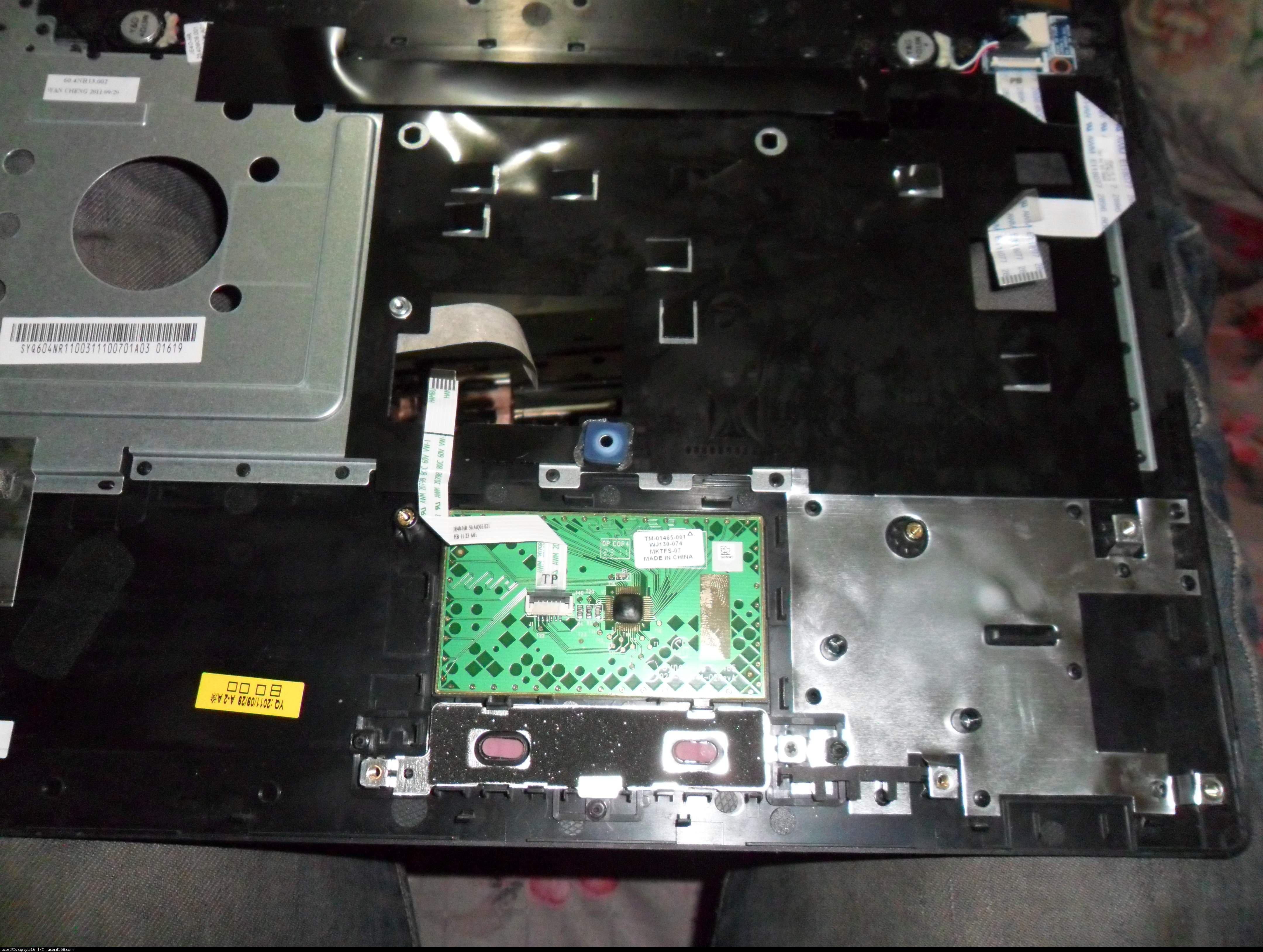 笔记本拆卸-Acer-Aspire-4750G - 烈焰病毒 - 博客园